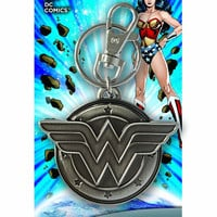DC Wonder Woman Pewter Keychain