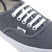 Vans Authentic Slim Grey Trainers at asos.com