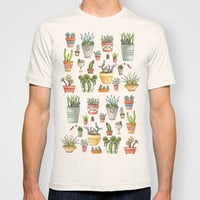 Potted Succulents T-shirt by Brooke Weeber
