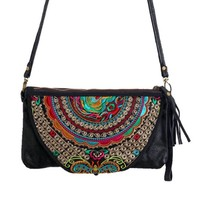 Embi Bags Boho Leather Purse