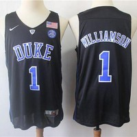 DCCK Duke University 1 Zion Williamson Swingman Basketball NBA Jerseys