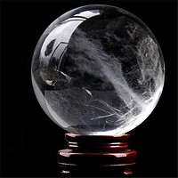 Crystal Ball Only Rock Quartz Fengshui Health Healing Natural Stones Assorted Sizes FREE SHIPPING