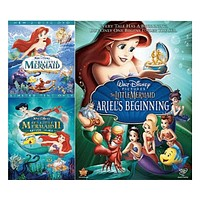 Walt Disney's The Little Mermaid Trilogy DVD Set 3 Movie Collection