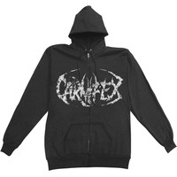 Carnifex Men's  Hanging Corpse Zippered Hooded Sweatshirt Black