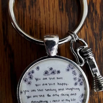 The Front Bottoms Key Chain