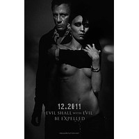 The Girl with the Dragon Tattoo 27x40 Movie Poster (2011)