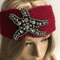 knit headband / Ear Warmer gift or for you