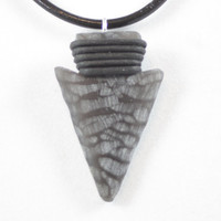 Necklace Obsidian Arrowhead