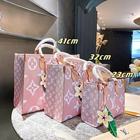 Louis Vuitton LV By The Pool Onthego 2021 New Women's Tote Shopping Handbag Shoulder Bag