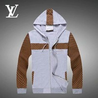 Louis Vuitton LV Cardigan Jacket Coat Hoodie