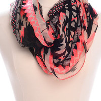 Out West Infinity Scarf, Pink