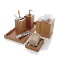Bamboo Soap Dish With Liner