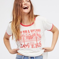 Free People San Fran Is For Lovers Tee