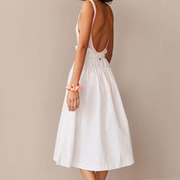 Silence + Noise Gerald Paperbag Midi Skirt - Urban Outfitters