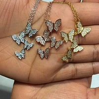 BUTTERFLY DREAM NECKLACE