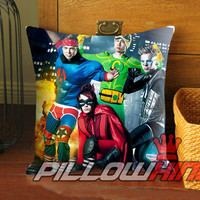 5sos heroes - Pillow Case 18 x 18 inch - 1 Side / 2 Side