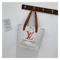 LV Canvas Bag Handbag Shopping Bag for Women