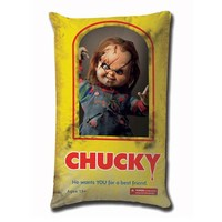 Child's Play Chucky Wants a Best Friend 19-Inch Plush Pillow - Mezco Toyz - Horror: Childs Play - Pillows at Entertainment Earth