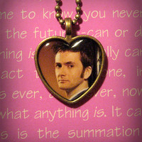 Doctor Who David Tennant Tenth Doctor Necklace Pendant