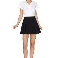Jude Cap Sleeve Trimmed Collared Shirt | Alice + Olivia