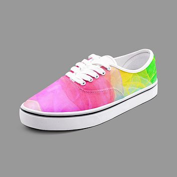 Colorful Unisex Canvas Shoes Fashion Low Cut Loafer Sneakers by The Photo Access