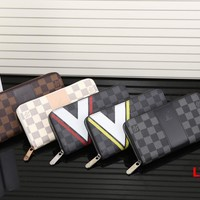 LV Long leather fashion Zipper Wallet [305708171293]