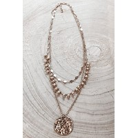 Shake Your Maracas Gold Layered Necklace