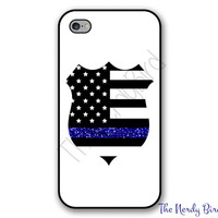 Thin Blue Line Police Wife Phone Case for Apple iPhone 4, 5, 5c, 6 and 6 plus & Samsung Galaxy s3, s4 and s5 and Phone Stand