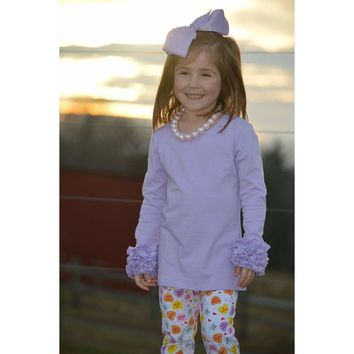 Lilac Icing Long Sleeve Top