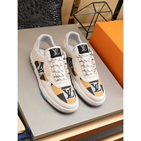 lv fashion men womens casual running sport shoes sneakers slipper sandals high heels shoes 14
