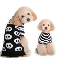 Pet Dog Clothes Winter Puppy Cat Dogs Clothing Halloween Skeleton Sweater Warm Dogs Pets Clothing PT1079