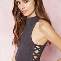 Cutout Crop Top | Forever 21 - 2000181850