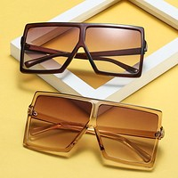 Big Frame Gradient Shades Over Sized Sunglasses 842