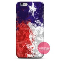 Texas Painting Flag iPhone Case 3, 4, 5, 6 Cover