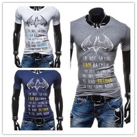 New  men's fashion short sleeve t-Shirt [10312515971]