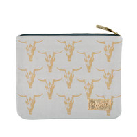 Alola - Cow Skull Clutch | Gray
