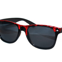 Bloody Spiked Sunglasses