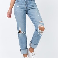 Levi's | 501 Jeans Search & Destroy | Princess Polly