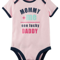 One Lucky Daddy Collectible Bodysuit