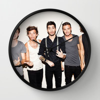 One Direction Wall Clock by Max Jones | Society6