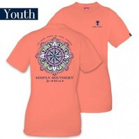 """Youth Simply Southern """"Compass"""" Tee"""
