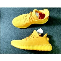 Samplefine2 Adidas  350 Yeezy Boost Sneakers Fresh Yellow