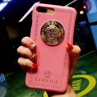 Versace Trending iPhone Phone Cover Case For iphone 6 6s 6plus 6s-plus 7 7plus hard shell Pink