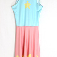 STEVEN UNIVERSE Pearl Inspired Skater Dress