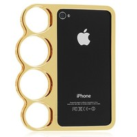 Brass Knuckle iPhone Case for 4/4s