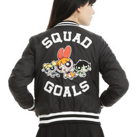 Cartoon Network The Powerpuff Girls Bomber Jacket