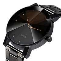 xiniu 2018 New Business Men Watches Luxury Crystal Stainless Steel Bracelet Analog Quartz Wrist Watch relogios masculino Clock