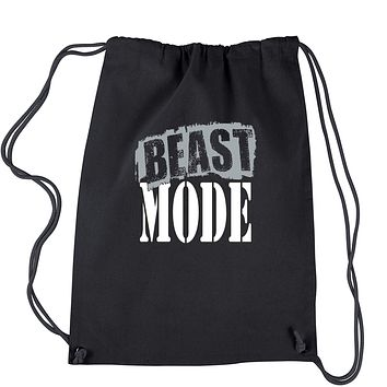 Beast Mode Training Drawstring Backpack