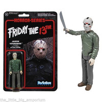 Jason Voorhees Friday the 13th ReAction 3 3/4-Inch Action Figure