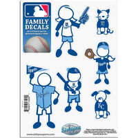 Kansas City Royals Family Decal Set Small